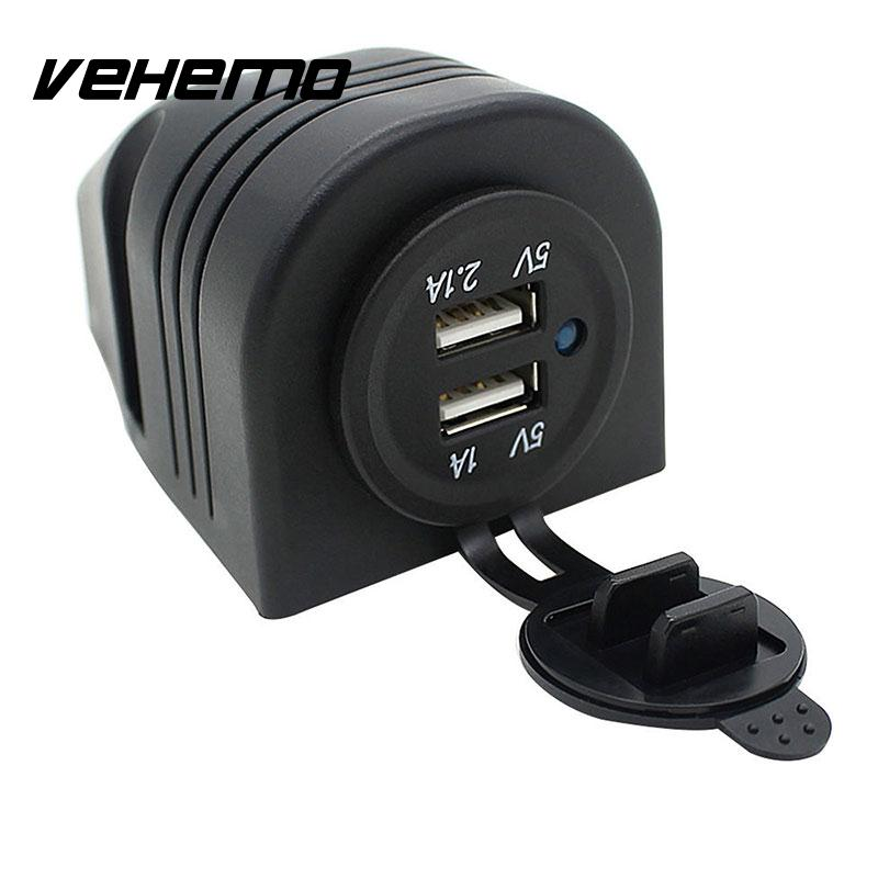 Dual USB Cars Lighter Socket Splitter Charger Power Adapter Outlet LED 12V Black a24 2016 new arrive 12v dual usb car cigarette lighter socket splitter 12v charger power adapter outlet accessories