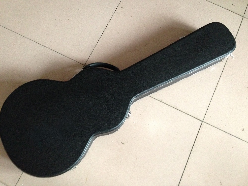Electric Guitar Hardcase in black and brown color, Just with our guitar together sell new electric guitar black hardcase not sell separately sale with guitar together