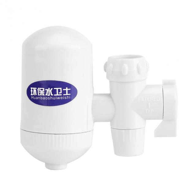1Pc Tap Water Filter ABS Home Kitchen Cleanable Ceramic Cartridge ...