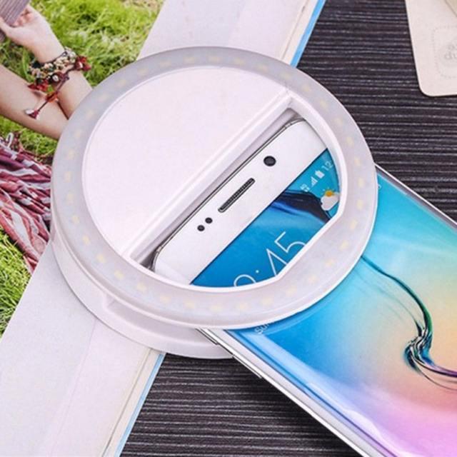 LED Portable Selfie Light Ring