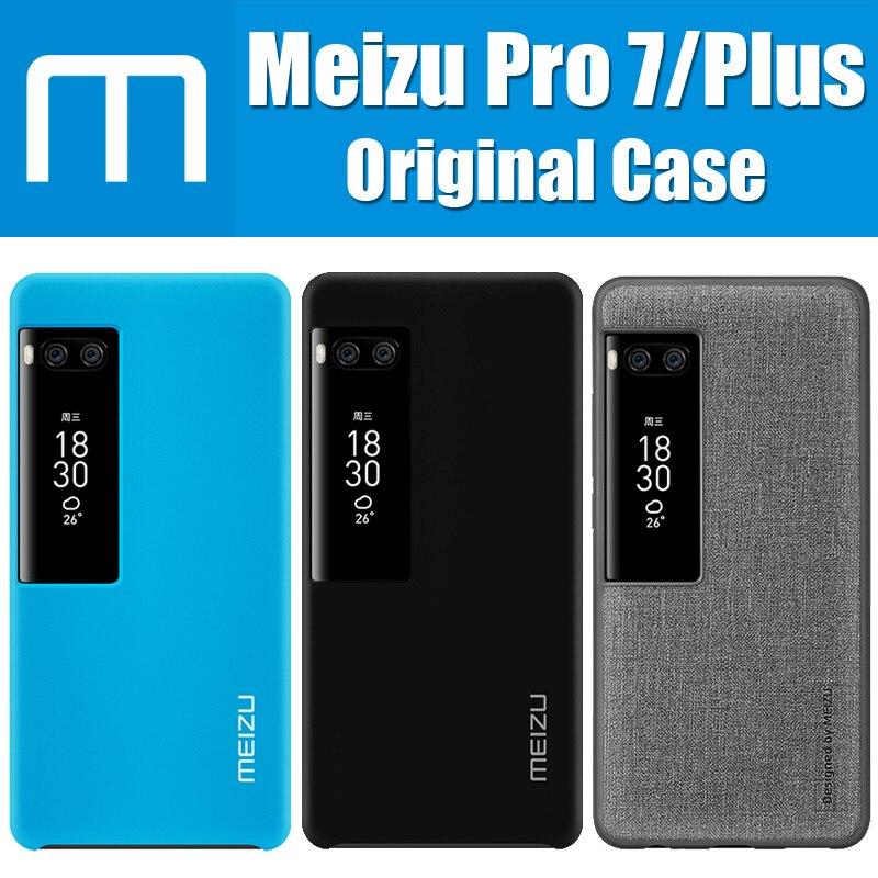 MT509A Meizu Pro 7 Case Original Protective Window Skin-friendly PC Matte For Meizu Pro 7 Plus Cover Helio P25/X30