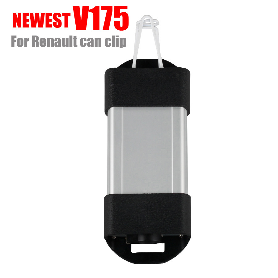 Car tool for Renault can clip V175 Newest auto car Diagnostic-tool Interface car obd2 code reader tool OBD2 interface 2018 newest v178 for renault can clip full chip gold cypress an2135sc 2136sc chip nec relay obd2 interface diagnostic scanner