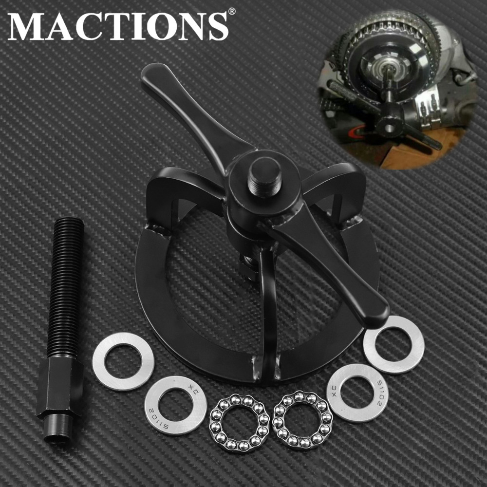 Motorcycle Clutch Spring Compressor Compression Tool For Harley 1340cc Touring Dyna Softail Sportster 48 XL 883 1200 1990 - 2007Motorcycle Clutch Spring Compressor Compression Tool For Harley 1340cc Touring Dyna Softail Sportster 48 XL 883 1200 1990 - 2007