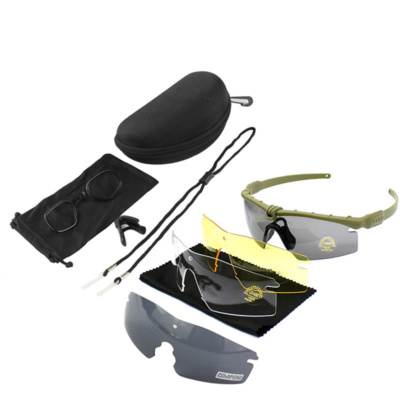Outdoor Sport Hiking eyewear Camping Hunting Tactical Goggles Cycling Glasses fishing Sunglasses