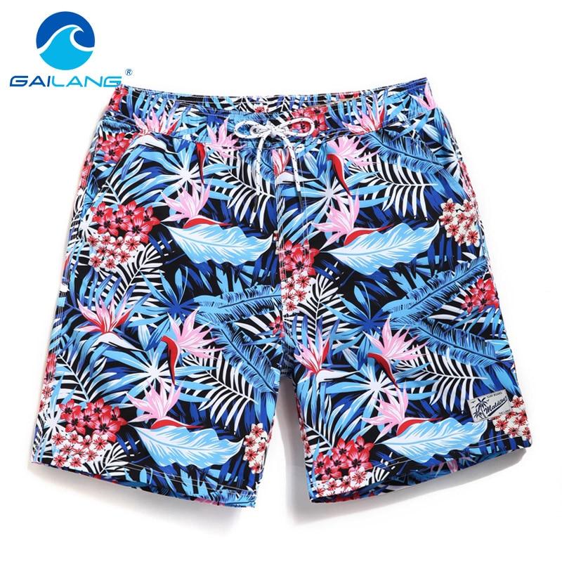 Gailang Brand Sexy Men's Board Shorts Beach Boxer Trunks Short Pants Gay Men/Women Swimwear Swimsuits Quick Dry New