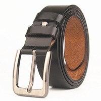 Plus Size 130 140 145cm Belts for Men 100% Cowhide Leather Belts Wide belt 3.8mm Waist Band Mens Big Tall Belt 56 62inch belts