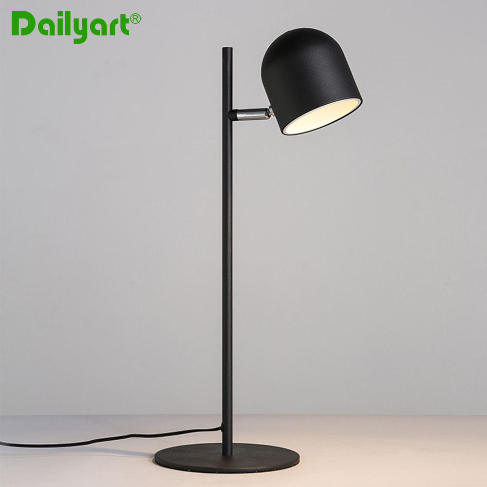 Modern Style Iron Table Lamp For Study Room North European Light Nightstand New Home Decoration In Lamps From Lights Lighting On
