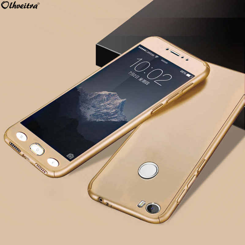 360 Full Coverage For Xiaomi Mi Max MiMax2 Case Protective Cover Plastic Fundas + Tempered Glass Case For Xiaomi Mi Max 2 MiMax