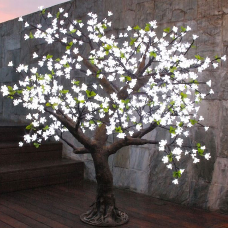 Two Become One Decorative Trees: 2.0Meters 1584led Festival Decorative Artificial Trees For