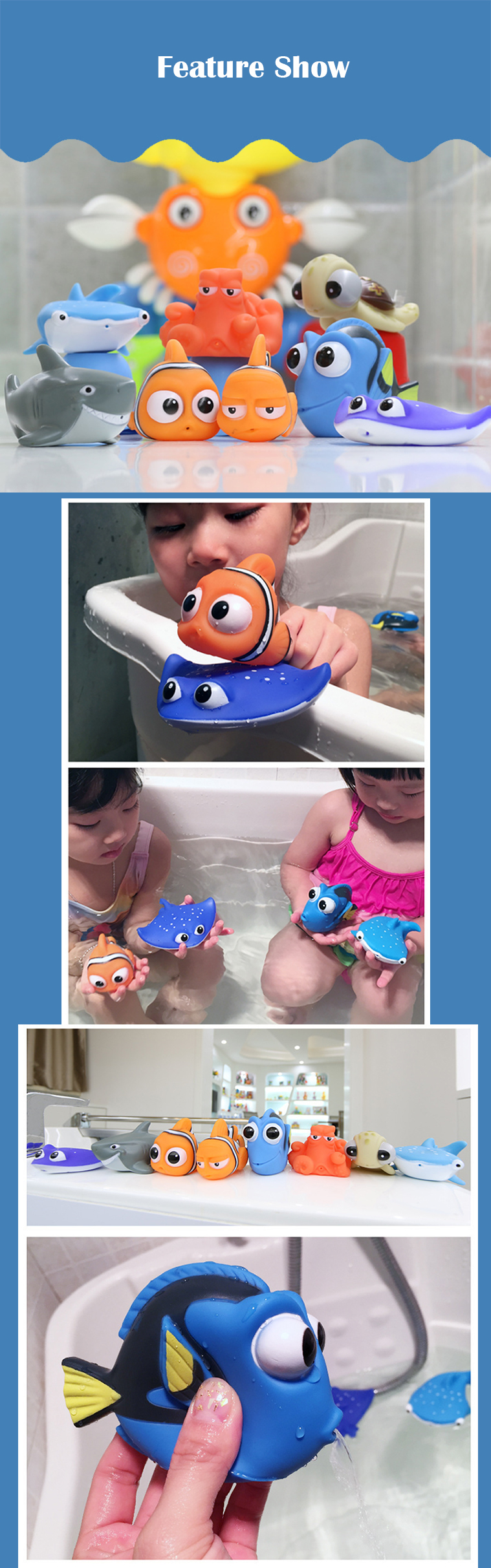 Finding Nemo Bath Toy