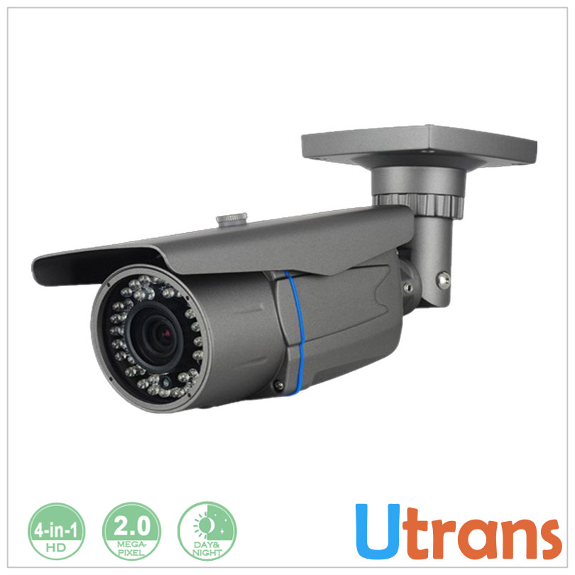 ФОТО Security CCTV Camera HD Analog 1080P AHD CVI Waterproof Outdoor 2.0 Megapixel 60m Night Vision 2.8-12mm CCTV Bullet Camera