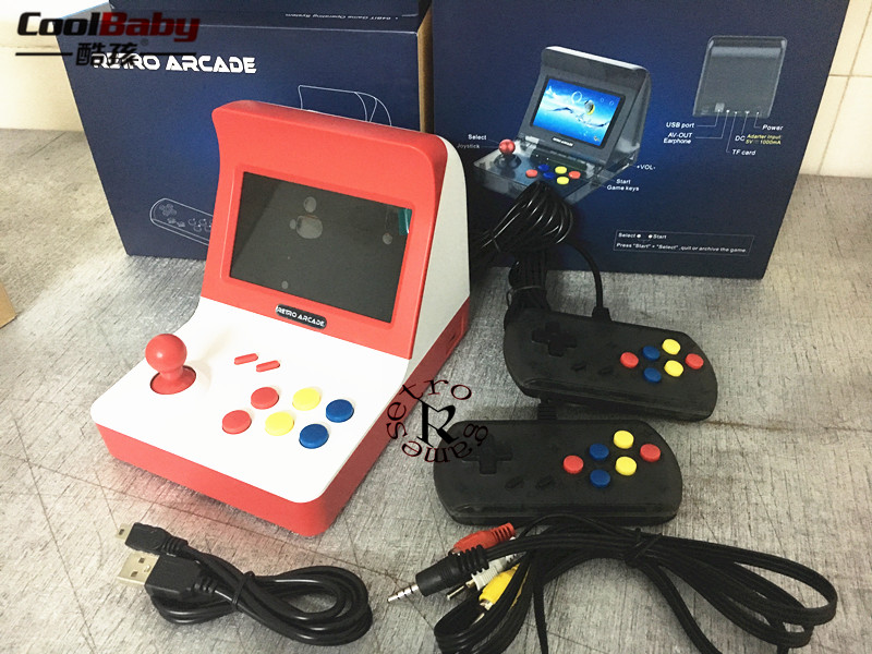 new Portable Retro Mini Handheld Game Console 4.3 Inch 64bit 3000 Video Games classical Family Game Console Gift RETRO ARCADE coolbaby x9 handheld game console portable video game retro mini game multifunctional video game console retro console