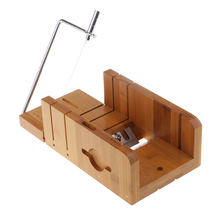 Wood Soap Cutter Loaf Mould Mold with Beveler Planer and Wire Slicer Cutters Soap Making Cutting Tools for Handmade Craft