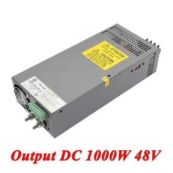 Scn-1000-48 Switching Power Supply 1000W 48v 20A,Single Output Industrial-grade Power Supply,AC110V/220V Transformer To DC 48 V