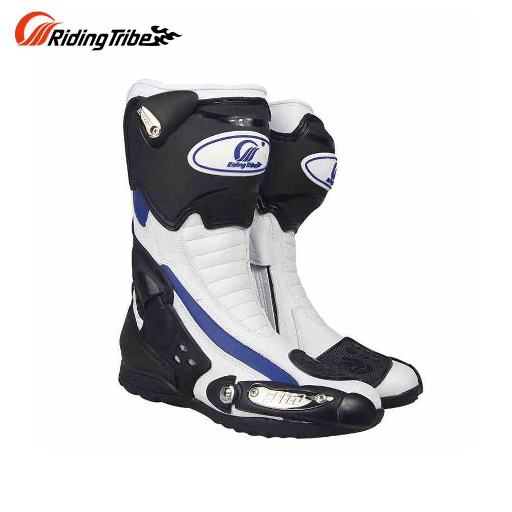 Riding Tribe Mens Motorcycle Riding Long Boots Outdoor Knight Riding Boots Shoes Motorcycle Anti Fall Boots Asian 40-45 Sizes ...