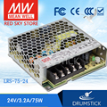 (Alleen 11.11) MEAN WELL LRS-75-24 (5 Pcs) 24V 3.2A meanwell LRS-75 76.8W Enkele Output Schakelende Voeding