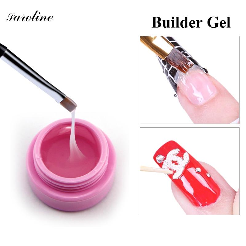 1PC 15ml CANNI Natural Nude Pastel Color UV Builder Gel