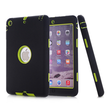 Shockproof Cover for iPad Pro 12.9 inch 2017 Case Kid Protective Armor Heavy Duty Hard Tablet Case for iPad Pro 12.9 A1670 A1671 ntspace tablet hand strap case for apple ipad pro 12 9 inch 2017 2015 holder case heavy duty hybrid shockproof armor cover case