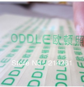 wholesale Customized Logo Design  sticker  Label Stickers label  Water-Proof & Paper Flyers' Printting