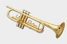 KOLNS KTR-300 B flat Gold lacquer trumpet Brass wind instruments with case and mouthpiece