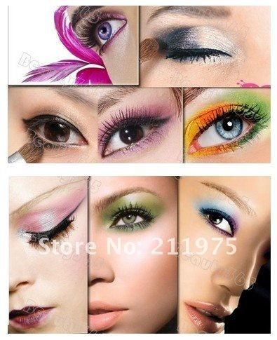 Original authentic STAR, Pro 120 Color Eyeshadow Palette Fashion Eye Shadow Makeup Wholesale