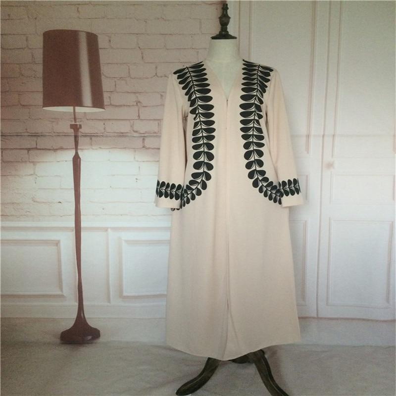 Veshja e modës për femra Cardigan në Dubai Style Abaya Jilbab - Rrobat kombëtare - Foto 6