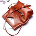MALLUO Women Messenger Bags Genuine leather Women Shoulder Bags For Women Handbag Clutch Crossbody Bag Famous brand Feminina hot