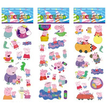 6 sheets set pink pig stickers for kids Home wall decor on laptop cute animal mini