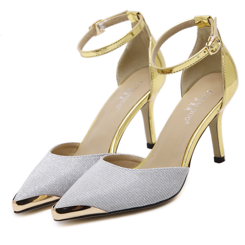 Sexy High Heels Women Pumps High Heel Shoes Stiletto Woman Party Wedding Shoes Kitten Heels Plus Size 35 - 40