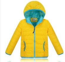 Children White Duck Down Jacket Kids Boy Warm Cotton Coat Girl Winter Clothes Teens Unisex