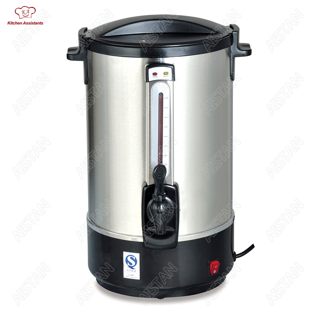 HL15E 12L Litres Stainless Steel Design Kitchen Electric Hot Water Boiler  Burning Kettle Hot Water Dispenser