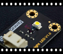 DFRobot 100% Genuine Gravity series Bright LED Module V1.0, 5V 3528LED with Gravity 3-Pin Cable support plug and play