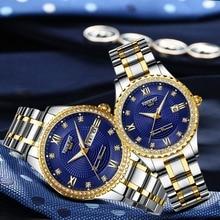 NIBOSI Frauen Uhren Top Marke Luxus Gold Paar Uhr Sport Quarzuhr für Frauen Wasserdicht Montre Femme Relogio Feminino