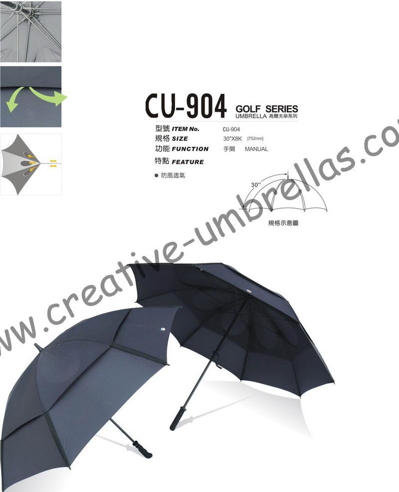 Free shipping by sea,double layers.14mm fiberglass shaft and ribs,golf umbrella,windproof,anti-static,ventilation