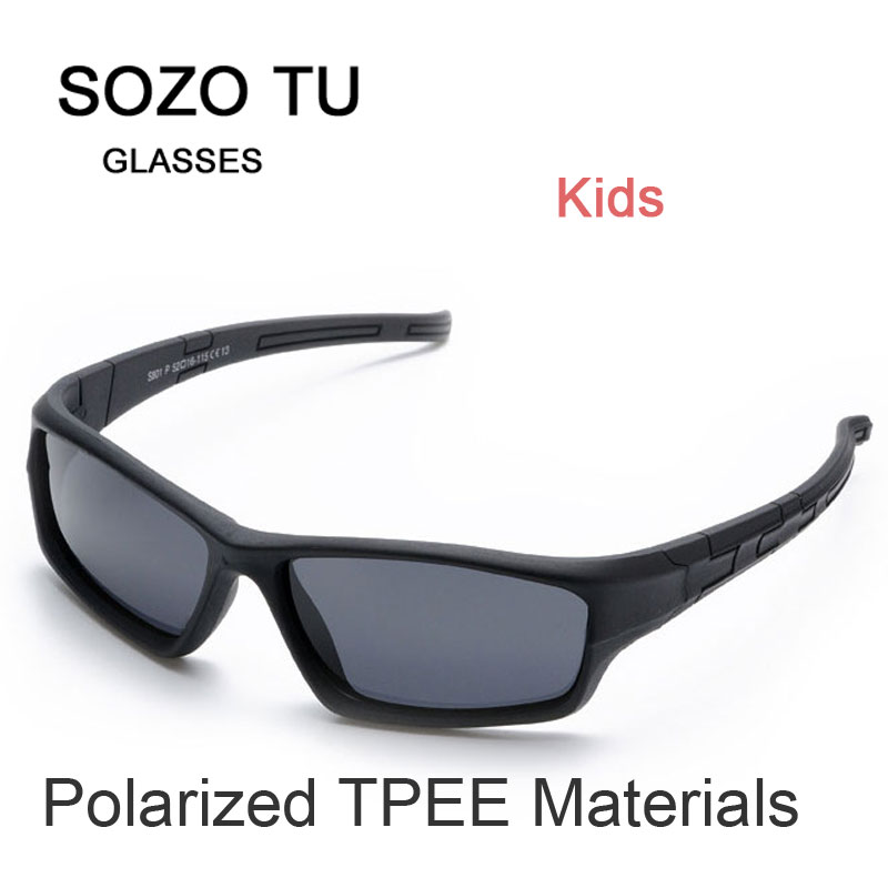 Kids Sunglasses Polarized Flexible Frame Eyewear Goggle For Children Eyeglasses