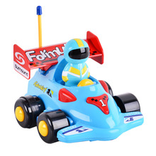 LeaadingStar Radio Control Toy New Toddlers RC Electric toys kids RC High speed Cute Cartoon musical light child Car toy zk25