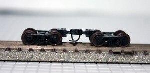 10pcs / lot 1/160 Model Train N scale wheel bogie Free Shipping(China)