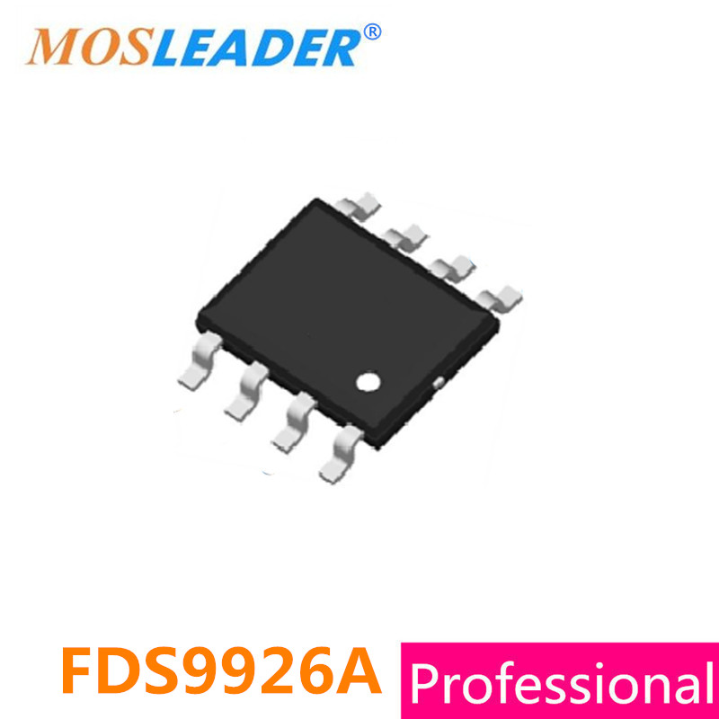 FDS9926A FDS9926 SOP8 500PCS 1000PCS Dual N-Channel 2.5V 9926 High quality gr8876a gr8876 sop 8