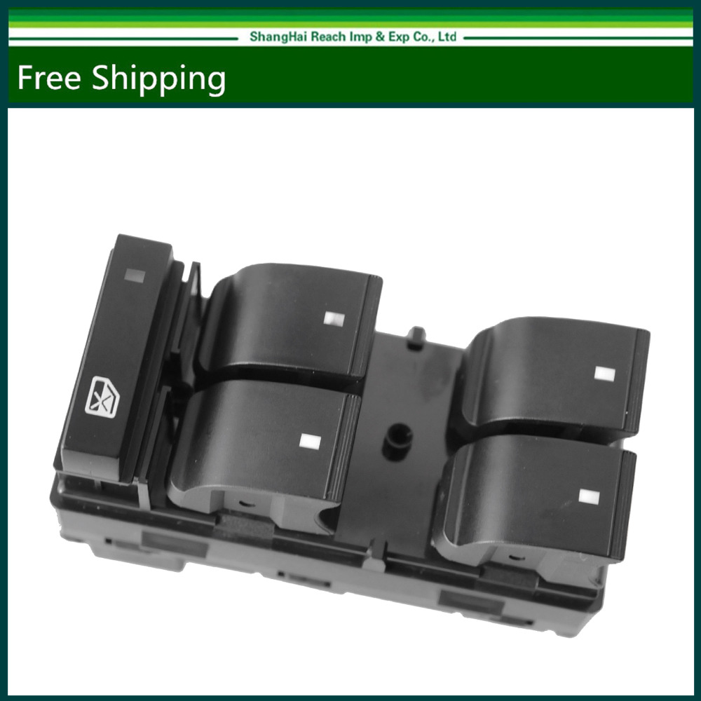 DWS-136 Driver Side Power Window Master Control Switch 5 Button For OE# 20945129 Chevrolet Silverado GMC Sierra Buick Enclave D1954F