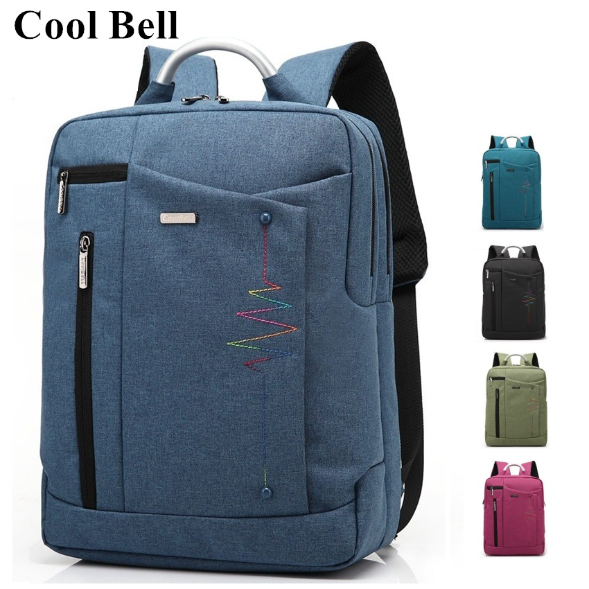 Hot Brand Cool Bell Backpack For Laptop Notebook 14,15,15.6,Compute Bag,For Macbook 15.4,Travel, School Bag, Free Ship BP19 сыворотки dr sea анти возрастная сыворотка для глаз с каму каму и q 10