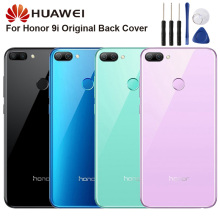 Huawei Original Back Battery Cover Housing For Huawei Honor 9i Honor9i Battery Back Rear Glass Case huawei original back battery cover housing for huawei honor 8x honor8x battery back rear glass case