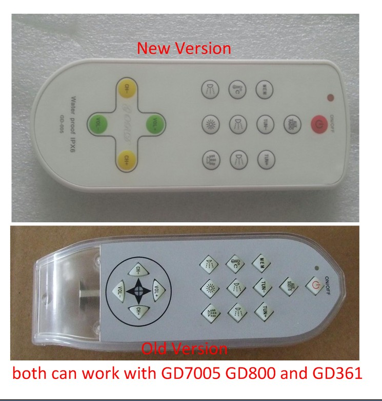 Electrical Equipment&Remote controller for spa system GD-7005 / GD7005 / GD 7005 bathtub controller gd 1554vcln