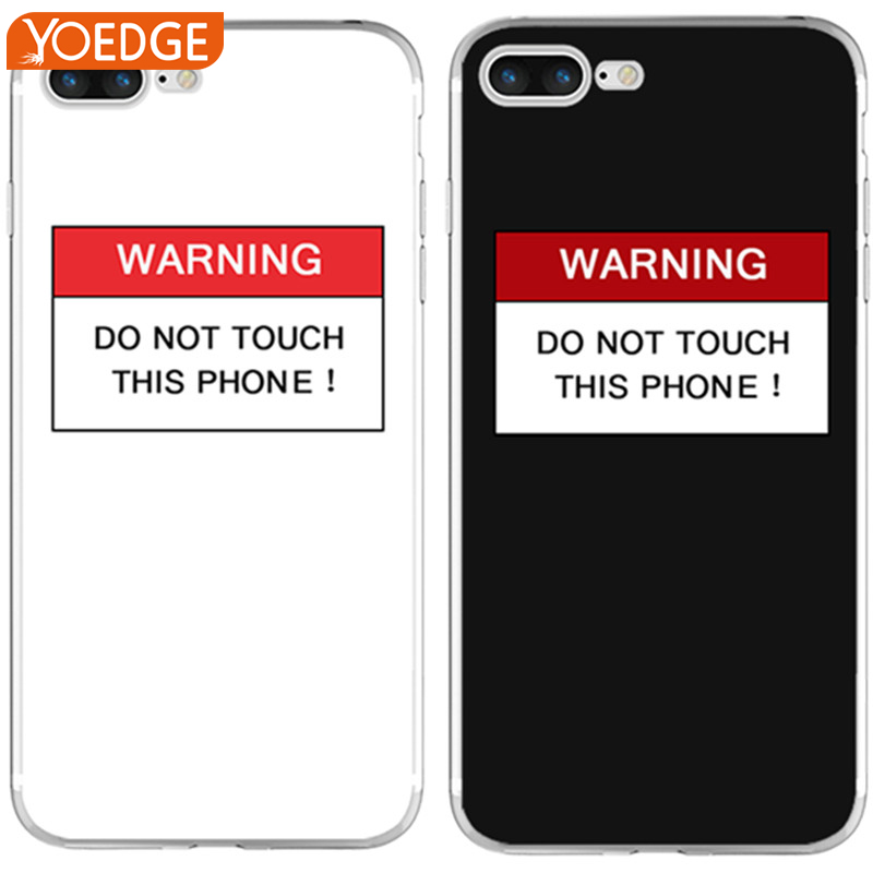 Black and White Lovers Tide Card Mobile Phone Shell TPU Case for iPhone X 8 7 4 4S 5 5S SE 5C 6 6S Plus Cover Fundas Silicone