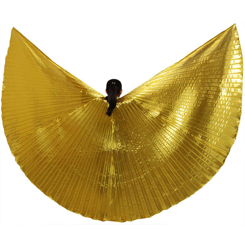 2015 Hot Women Belly Dance Isis Wings Oriental Design New Wings without Sticks 9 COLOR HOT SALE