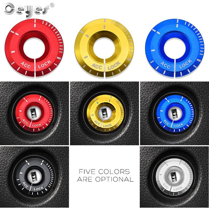 Car Start Engine Button Key Ring for VOLKSWAGEN AUDI SKODA SEAT (16)
