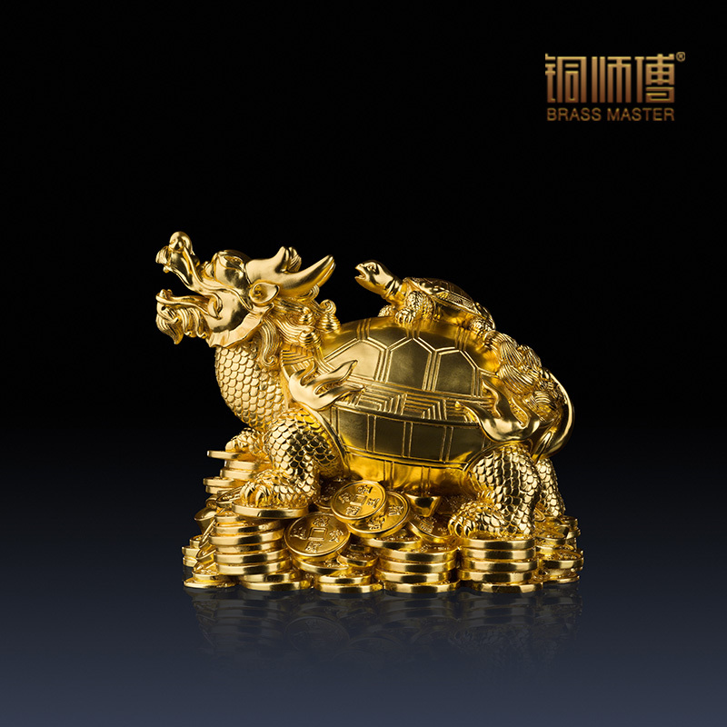 Online Shop Copper master  Cai dragon turtle   middot  Gold  Full copper  ornaments home crafts living room made of gold foil stickers   Aliexpress  Mobile. Online Shop Copper master  Cai dragon turtle   middot  Gold  Full