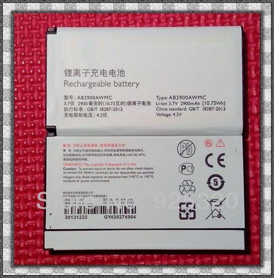Envío gratis, batería Original para Xenium X1560 X5500 teléfono móvil AB2900AWMC AB2900AWMT para philips CTX5500 CTX1560 teléfono móvil