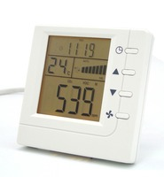 Indoor Air Quality VOC CO2 Monitor Detector Fan Ventilator Control With RS485 Communication