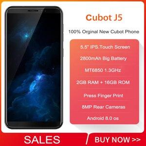 Image 2 - Teléfono móvil 3G cubot j5, pantalla de 2019 pulgadas 18:9, so Android 5,5, MT6580, Quad Core, 2 GB RAM, 16 GB ROM, batería de 9,0 mAh, Tarjeta Sim Dual