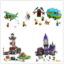 H&HXY Scooby Doo 10429 10430 10431 10432 Mysterious Ghost House BELA Building Block Toys P029 75901 75903 75904 Christmas gifts(China)